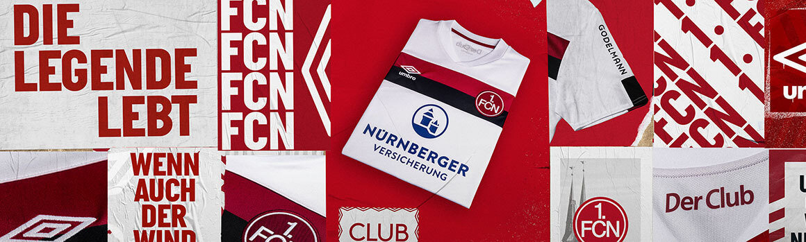 outlet store d0e15 de33a 1. FC Nurnberg Football Kits and Jerseys   Official Umbro