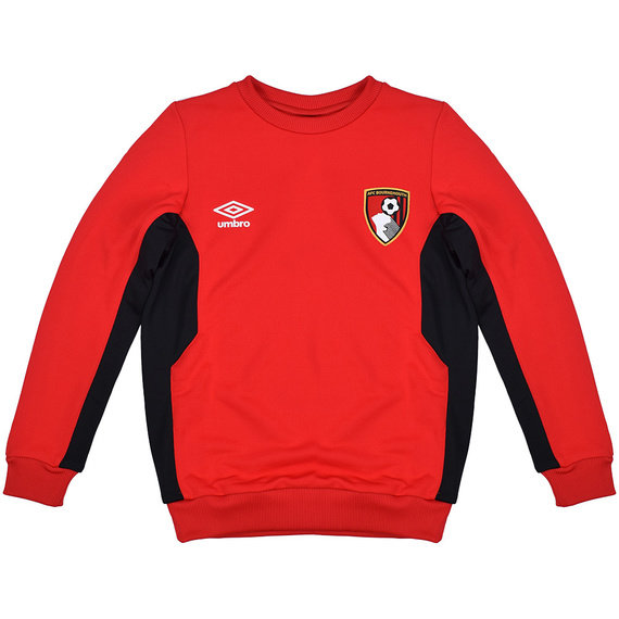 AFC BOURNEMOUTH 17/18 JUNIOR TRAINING SWEAT TOP