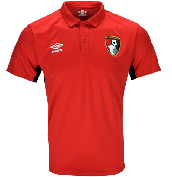AFC BOURNEMOUTH 17/18 TRAINING BENCH POLY POLO