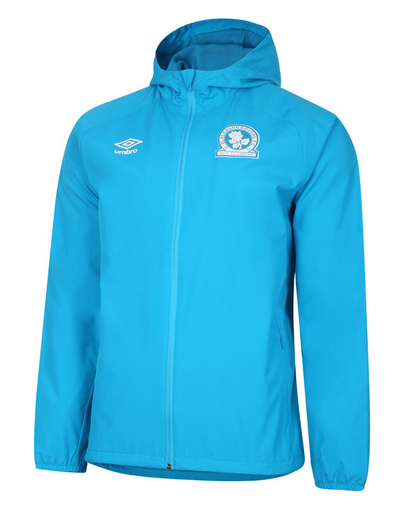 BLACKBURN ROVERS 20/21 SHOWER JACKET