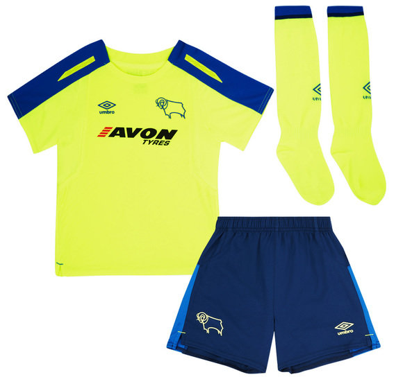 DERBY COUNTY 17/18 AWAY INFANT KIT