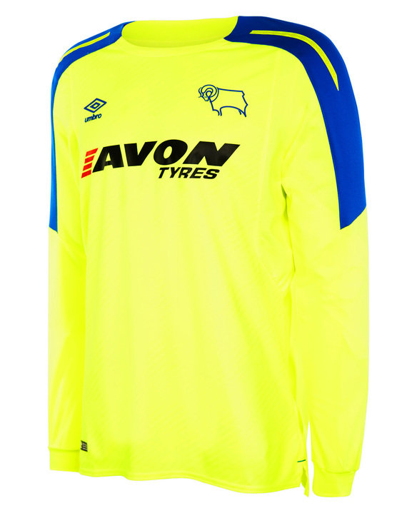 DERBY COUNTY 17/18 AWAY SHIRT LS