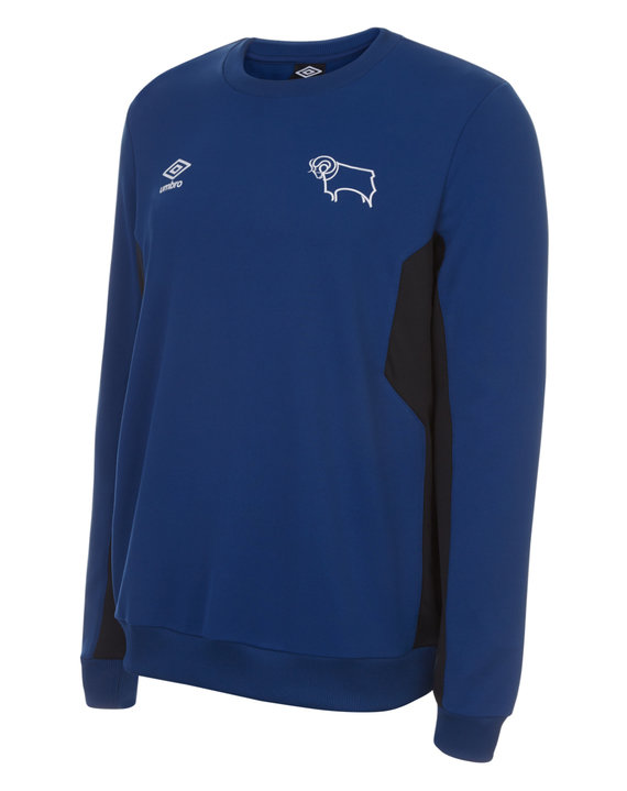 DERBY COUNTY 17/18 JUNIOR TRAINING SWEAT TOP