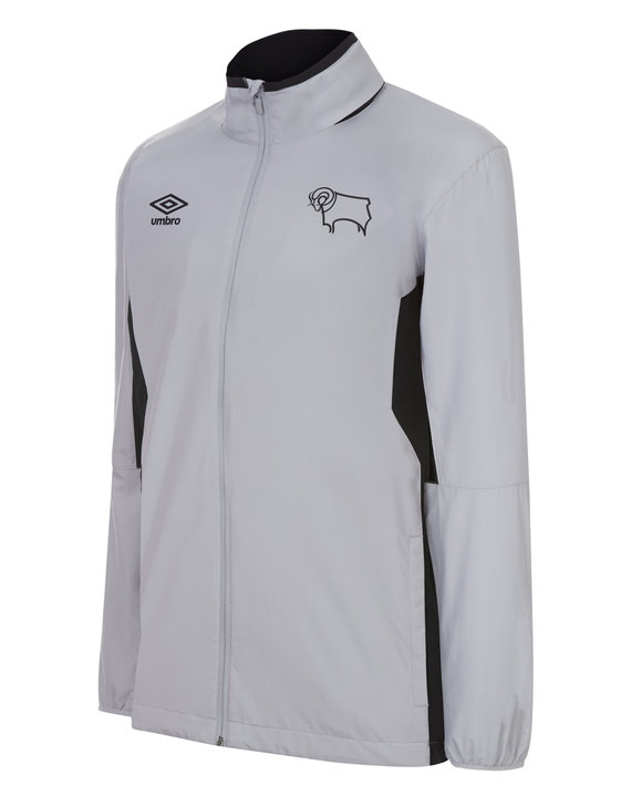 DERBY COUNTY 17/18 TRAINING SHOWER JACKET