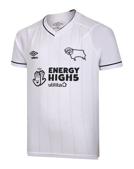 DERBY COUNTY 20/21 HOME JERSEY JUNIOR