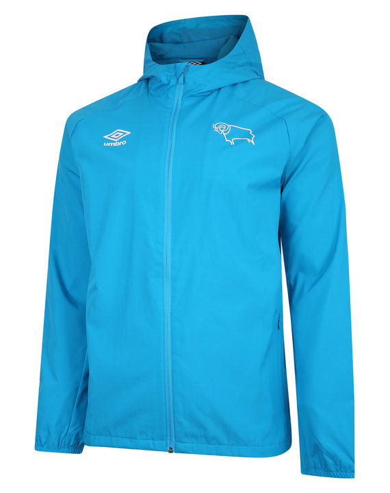DERBY COUNTY 20/21 SHOWER JACKET JUNIOR