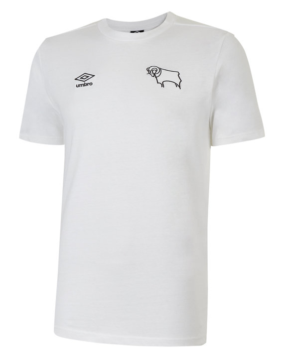 DERBY COUNTY LOGO COTTON TEE