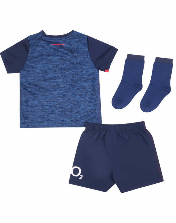 ENGLAND RUGBY ALTERNATE REPLICA BABY KIT