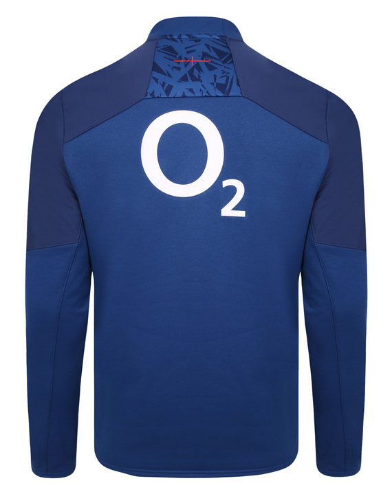 ENGLAND RUGBY HALF ZIP FLEECE TOP