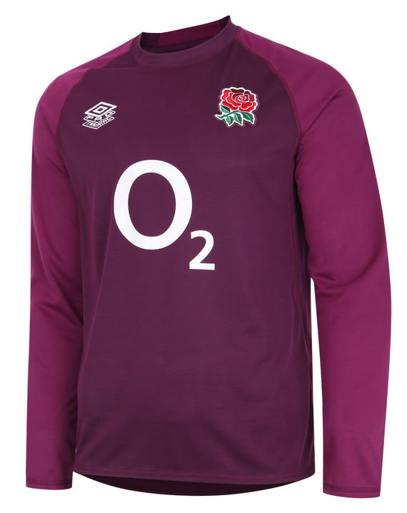 ENGLAND RUGBY PRO RELAXED TRAINING JERSEY TOP