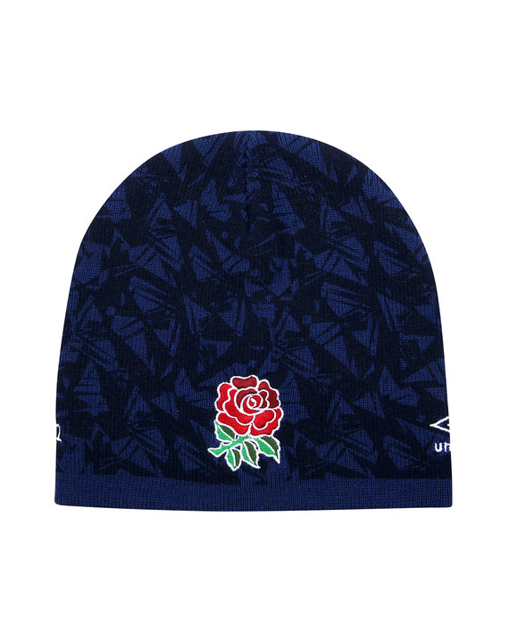 ENGLAND RUGBY FRAGMENT BEANIE HAT