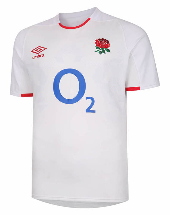 ENGLAND RUGBY HOME PRO JERSEY TOP