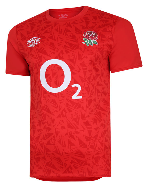 ENGLAND RUGBY WARM UP JERSEY TOP