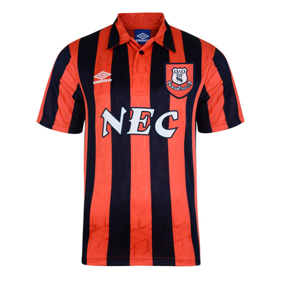 EVERTON 1992 AWAY SHIRT