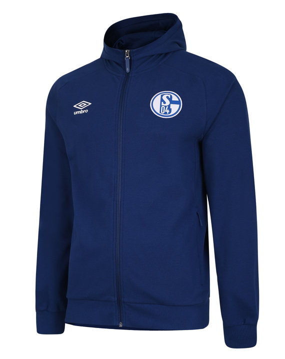 FC SCHALKE 04 20/21 TRAVEL HOODED JACKET