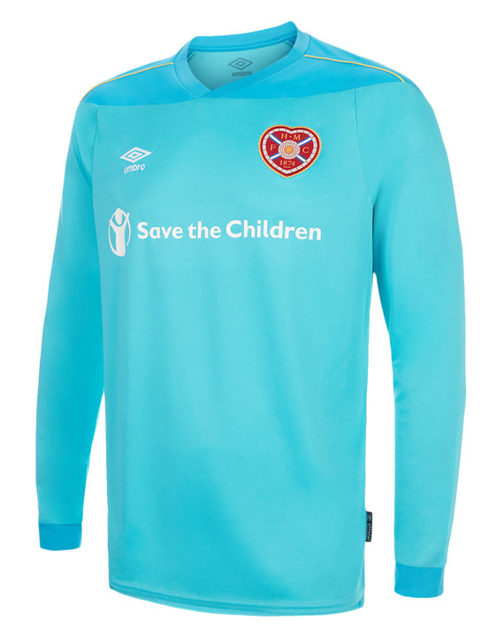HEARTS FC 20/21 GK HOME JERSEY LS