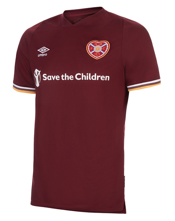 HEART OF MIDLOTHIAN F.C. 20/21 HOME JERSEY