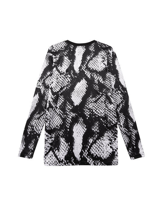 HOUSE OF HOLLAND LONG SLEEVED SNAKE PRINT TOP