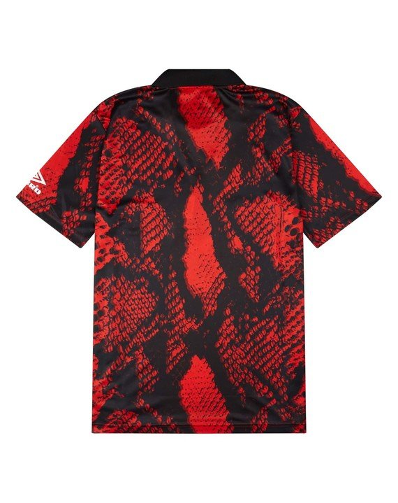 HOUSE OF HOLLAND SNAKE PRINT COLLARED TOP