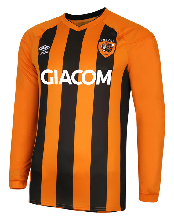 HULL CITY 20/21 HOME JERSEY LS JUNIOR