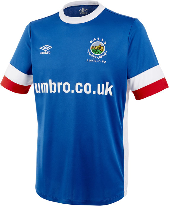 LINFIELD 16/17 JUNIOR HOME SHIRT