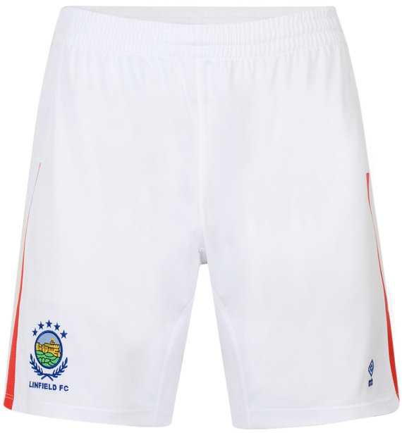 LINFIELD FC 18/19 JUNIOR HOME SHORTS