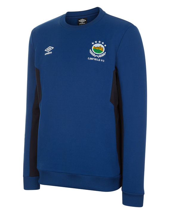LINFIELD FC JUNIOR TRAINING SWEAT TOP Thumbnail