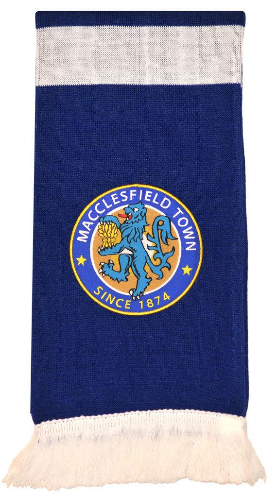 MACCLESFIELD FC CREST SCARF