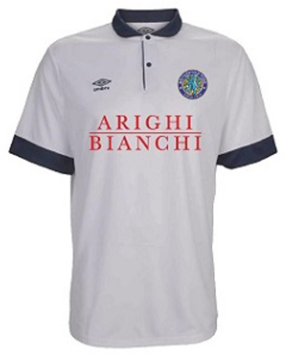 MACCLESFIELD TOWN FC JUNIOR AWAY SHIRT