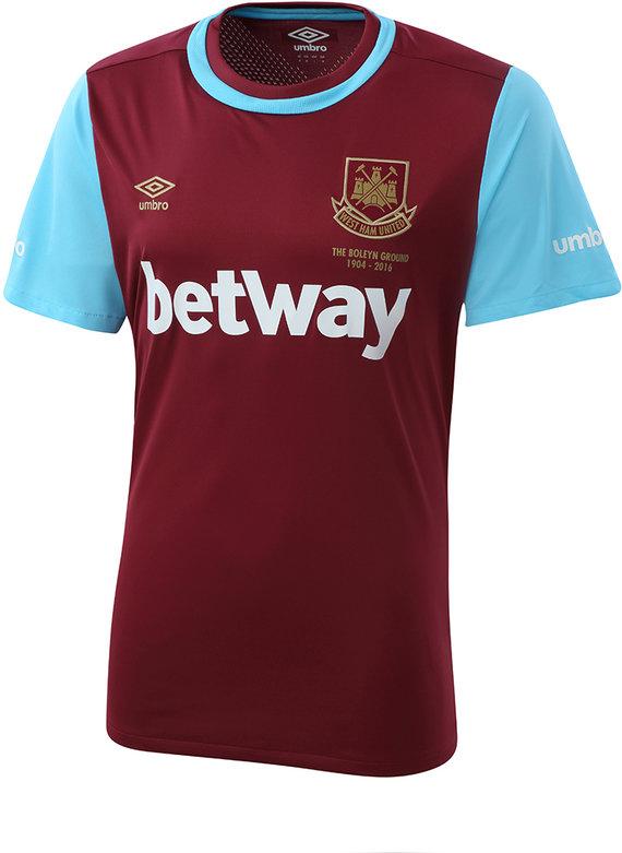 West Ham Utd 15 16 Home Shirt Umbro