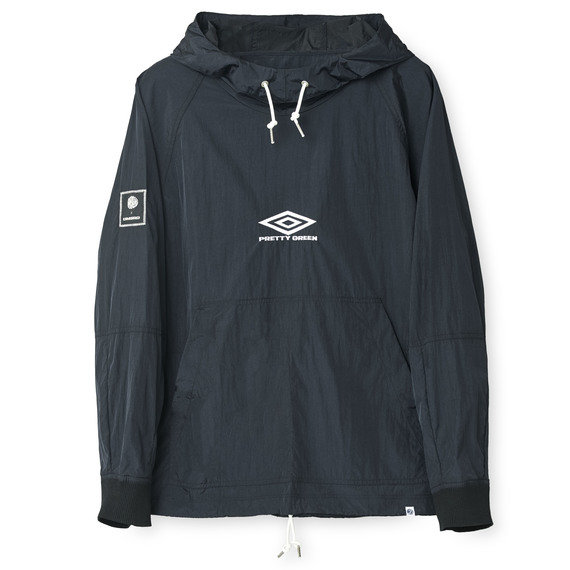 PRETTY GREEN HOODED TRAINING TOP