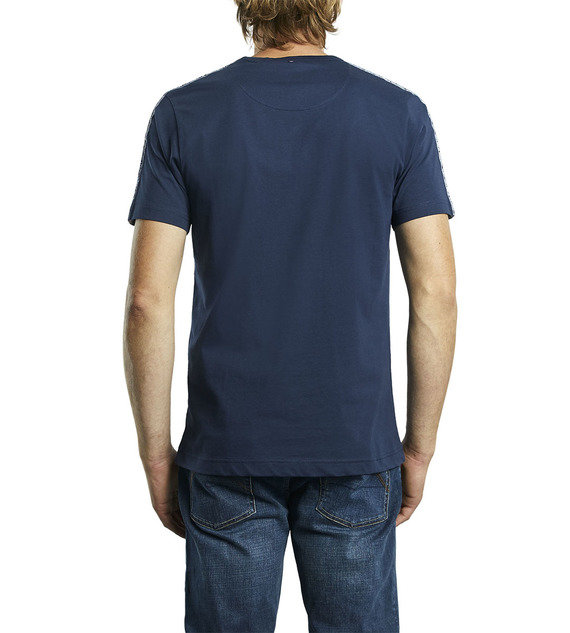 PRETTY GREEN TAPED T-SHIRT