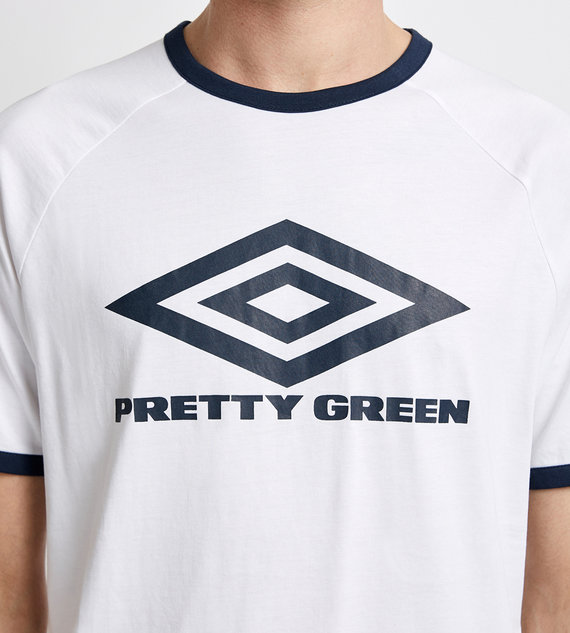 PRETTY GREEN T-SHIRT LARGE LOGO