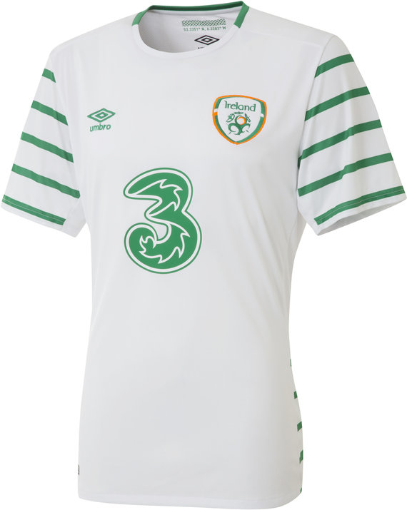 REPUBLIC OF IRELAND 16/17 JUNIOR AWAY SHIRT