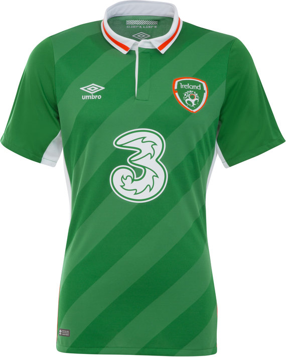 REPUBLIC OF IRELAND 16/17 JUNIOR HOME SHIRT