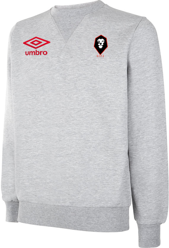 SALFORD CITY FC TRAINING CREW SWEATSHIRT