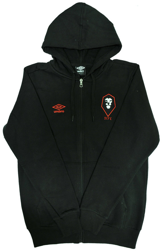 SALFORD CITY FC ZIP UP HOODY