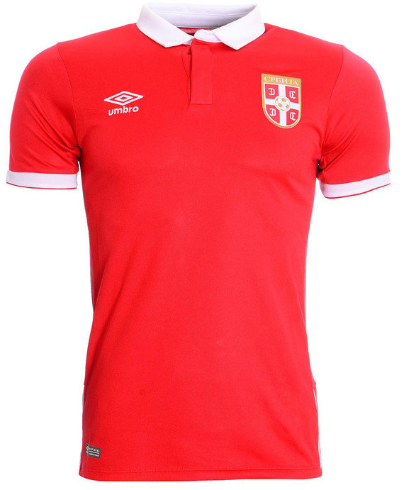 SERBIA JUNIOR HOME SS SHIRT