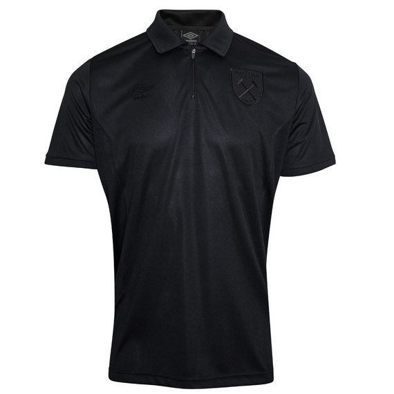 WEST HAM UTD 18/19 BLACKOUT TECHNICAL POLO SHIRT