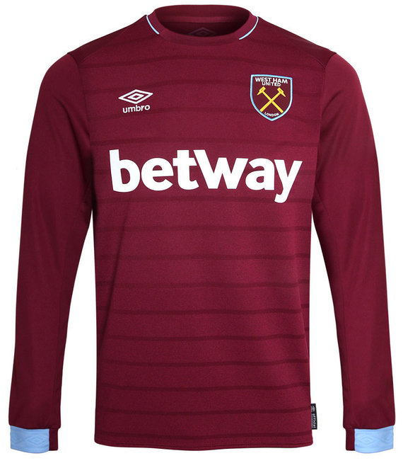 WEST HAM UTD 18/19 LS HOME SHIRT