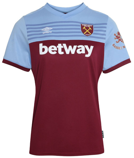 WEST HAM UTD 19/20 WOMENS HOME SHIRT