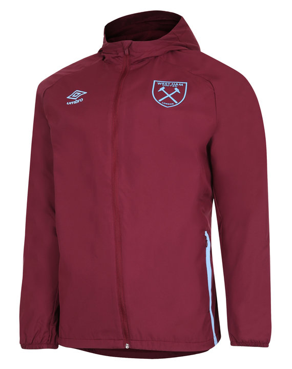 WEST HAM UTD 20/21 SHOWER JACKET JUNIOR