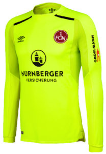 View the 1. FCN 17/18 GK HOME SHIRT from the Clubs collection