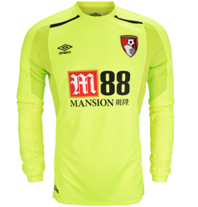 View the AFC BOURNEMOUTH 17/18 GK HOME JERSEY from the Clubs collection