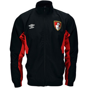 View the AFC BOURNEMOUTH 17/18 WALK OUT JACKET from the Clubs collection