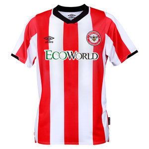 BRENTFORD FC 19/20 JUNIOR HOME JERSEY