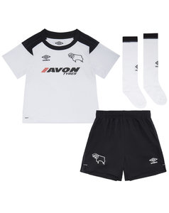 View the DERBY COUNTY 17/18 HOME INFANT KIT from the Clubs collection