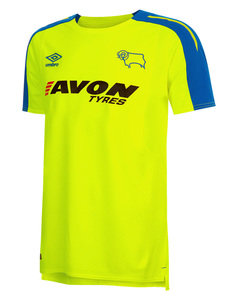 View the Kid's DERBY COUNTY 17/18 JUNIOR AWAY SHIRT from the kid's  collection