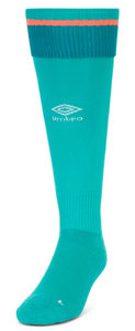 View the DERBY COUNTY 17/18 JUNIOR HOME GK SOCK from the Clubs collection