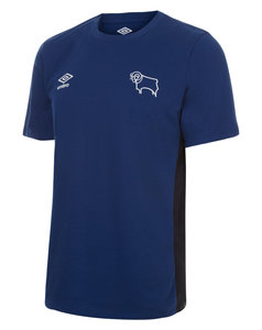 DERBY COUNTY 17/18 TRAINING CVC TEE